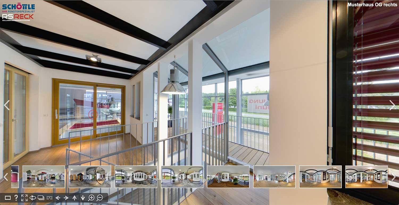 Panoramabilder mit 360 Grad Ansicht und Panoramafotografie Gewerbe: Virtueller Rundgang durch Firmengebäude