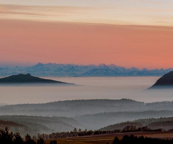 Landschaftsfotografie Nebelschwaden