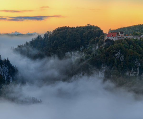 Landschaftsfotografie nebel im Tal