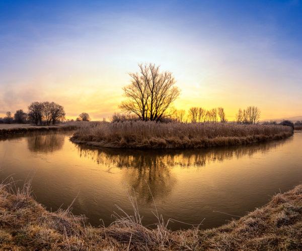 Landschaftsfotografie Fluss