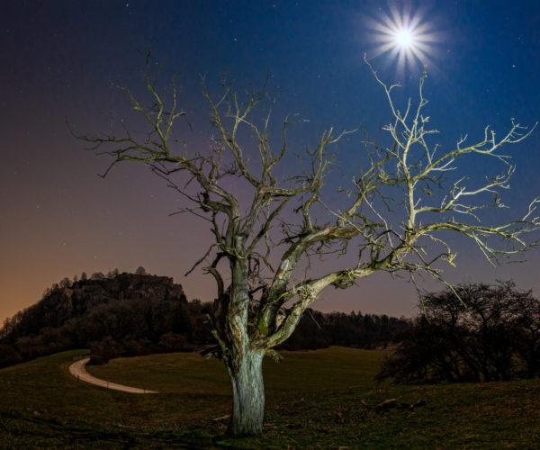 Landschaftsfotografie nachts
