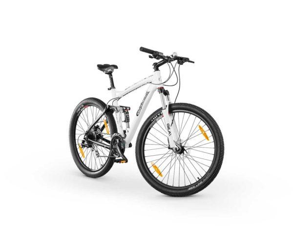 Produktfotografie Packshot: Bike weiss