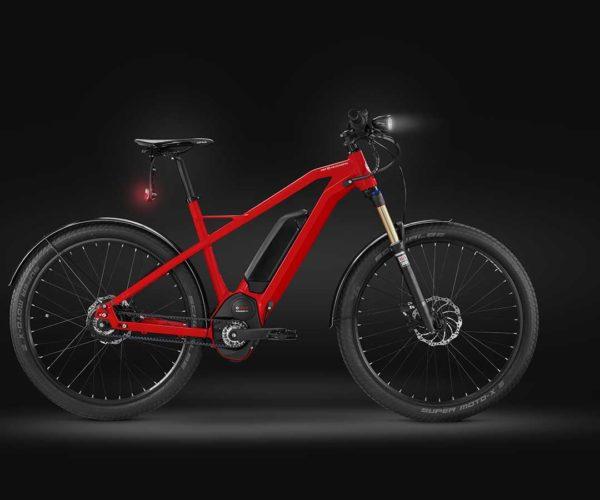 Produktfotografie Packshot: Bike rot