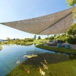Architekturfotografie Sonnensegel Terrasse