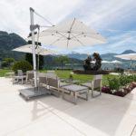 Architektur Fotografie Garten mit Terrasse