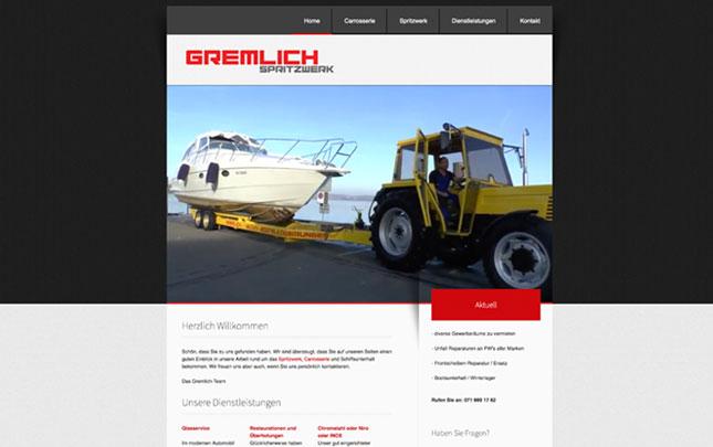 Webdesign: neue Webseite Das Spritzwerk