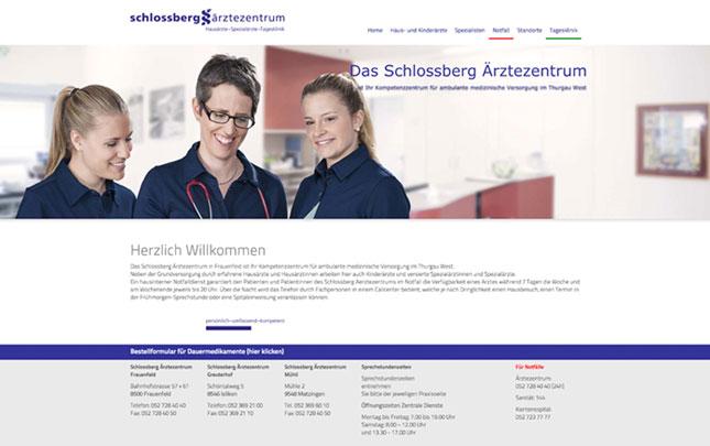 Webdesign: neue Webseite Schlossberg