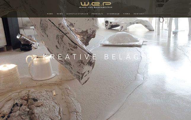 Webdesign WEP neue Webseite