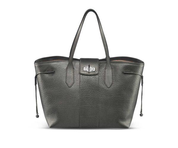 Produktfotografie Packshot: Modefotografie Handtasche schwarz