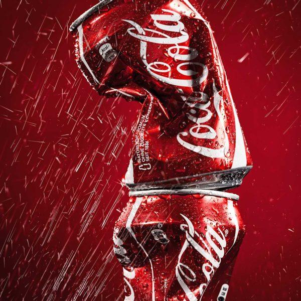 Produktfotografie Packshot: Coca Cola