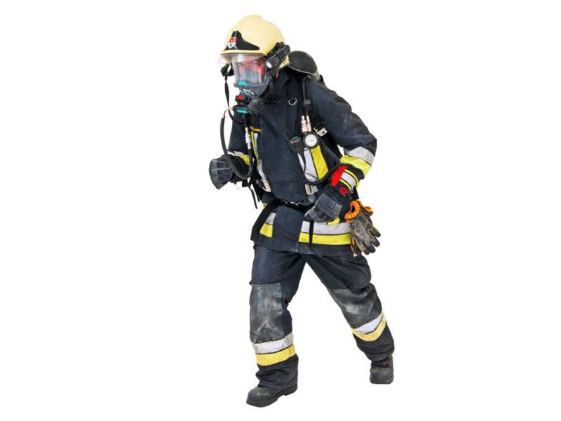 360Grad Produktfotografie Packshot: Feuerwehrmann