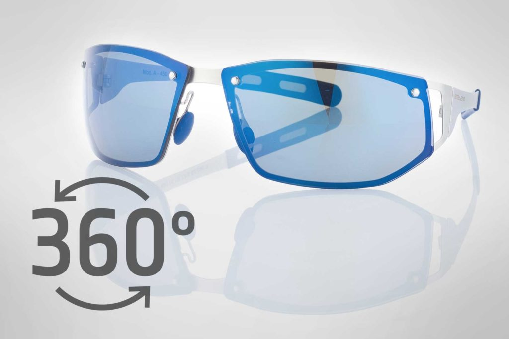 360 Grad Produktfotografie Packshot: Brille
