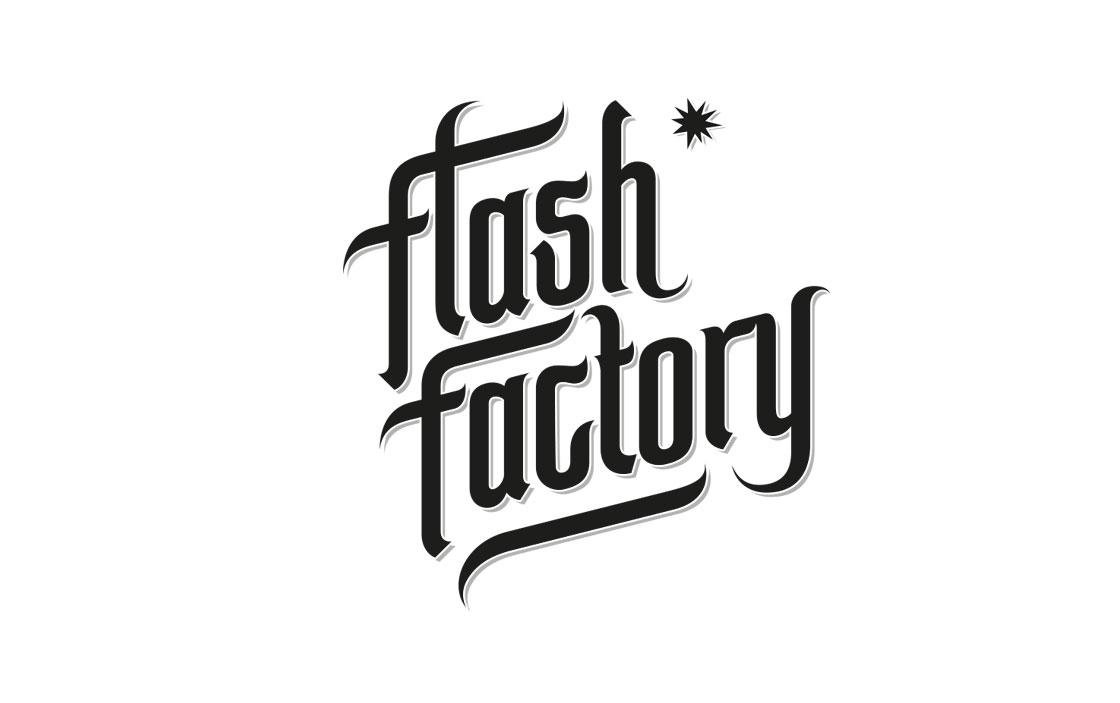 Grafik- und Webdesign: flashfactory logogestaltung
