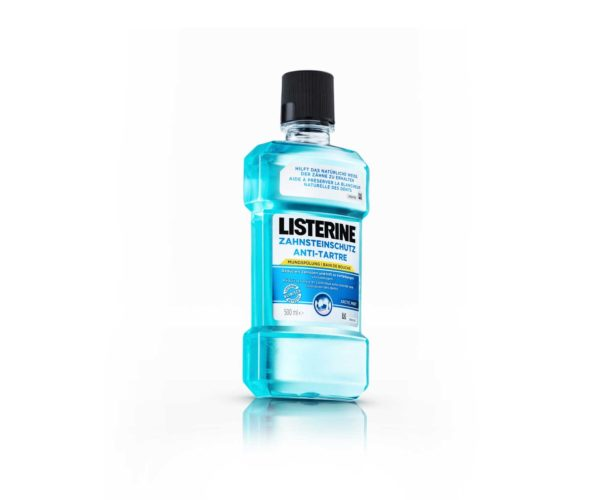 Produktfotografie Packshot Listerine