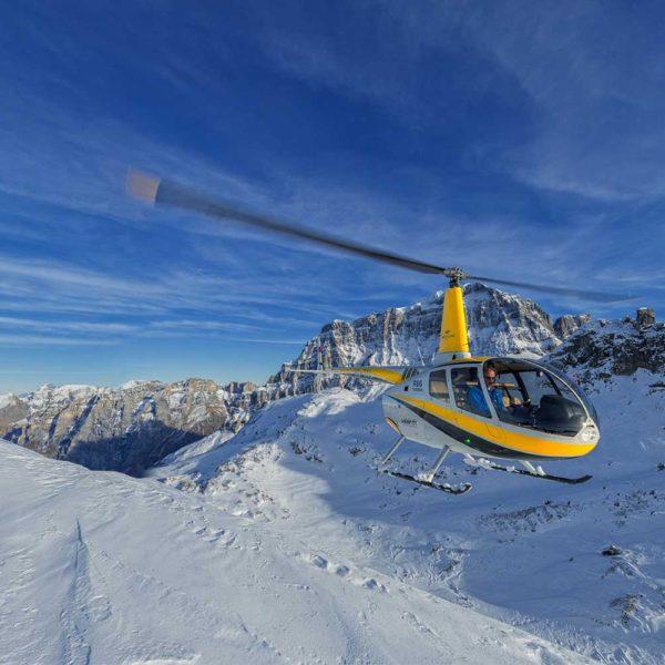 Professionelle Luftaufnahmen Helikopter