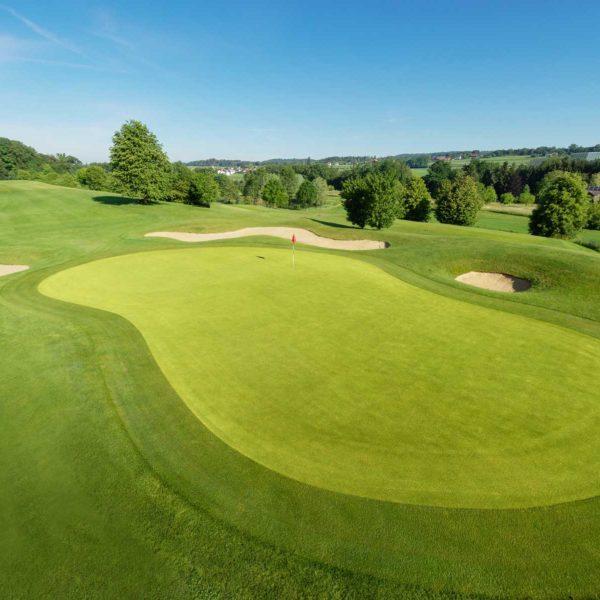 Luftaufnahmen Golfplatz - Drohnenfotografie
