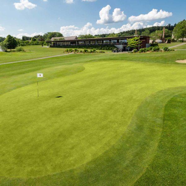Luftaufnahmen Golfplatz
