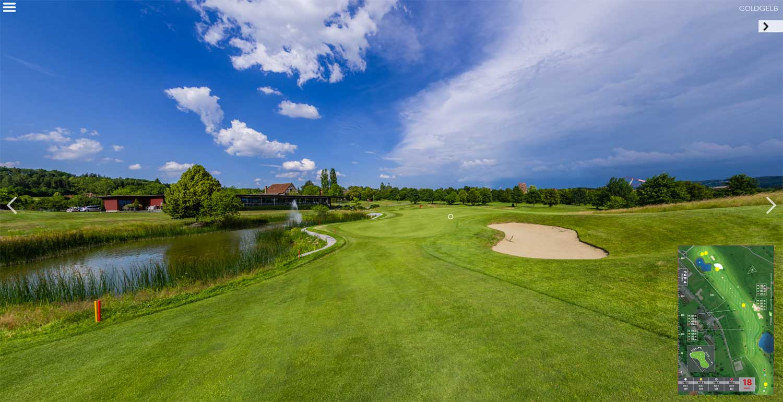 Luftaufnahmen Golfplatz Lipperswil