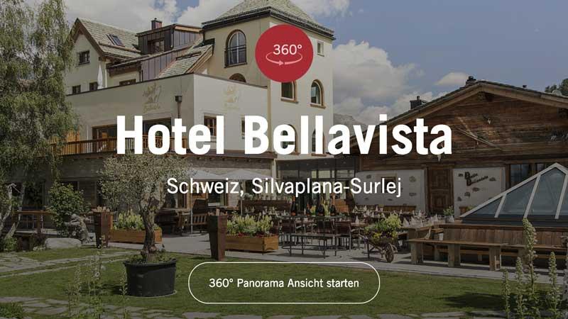 Werbefotografie Hotel Bellavista Schweiz