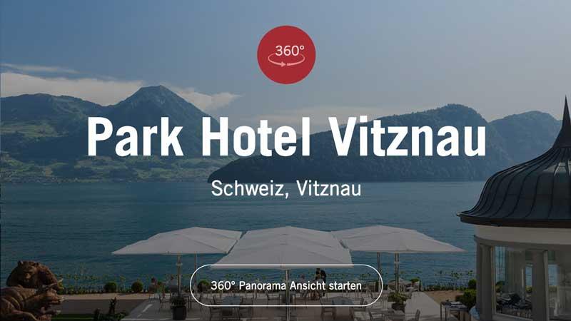 Werbefotografie Park Hotel Vitznau
