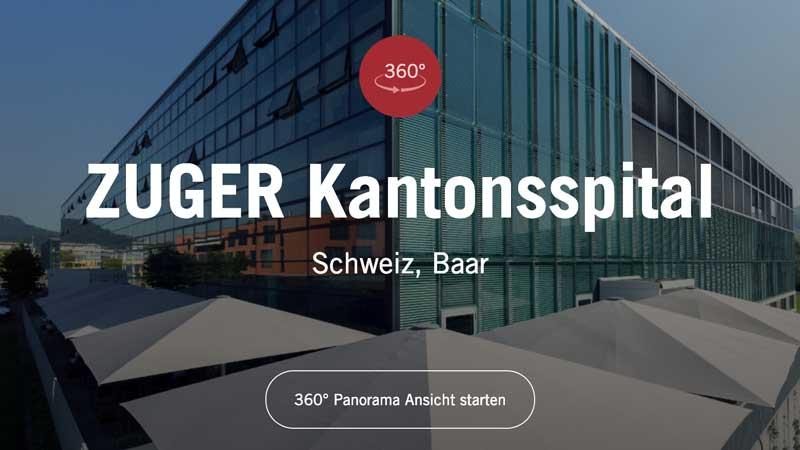 Werbefotografie Kantonsspital