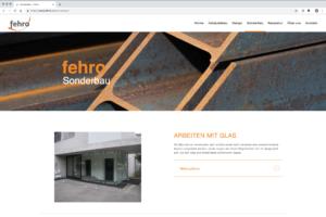 Webdesign Fehro